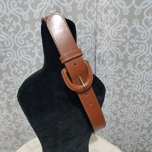 LAUREN Ralph Lauren Womens Genuine Leather Belt